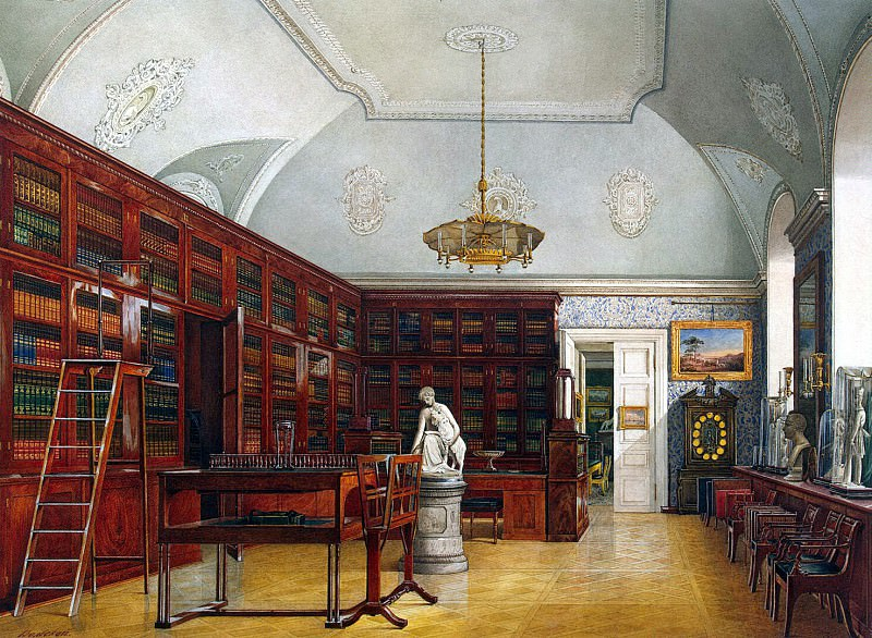 Volsky Ivan Petrovich - Types of rooms of the Winter Palace. Third spare half. Gym. Hermitage ~ part 03