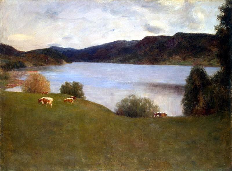 Вереншелль, Эрик - Пейзаж с озером. Эрмитаж ~ часть 3