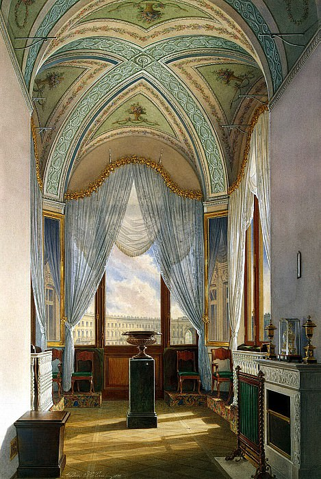 Hau Edward Petrovich - Types of rooms of the Winter Palace. Flashlight. Hermitage ~ part 03