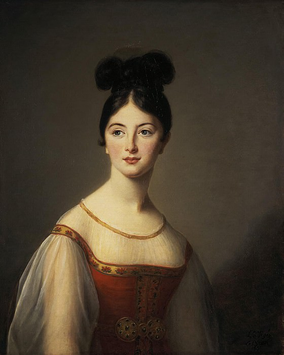 Vigee-Lebrun, Elisabeth-Louise - Portrait of a Woman. Hermitage ~ part 03