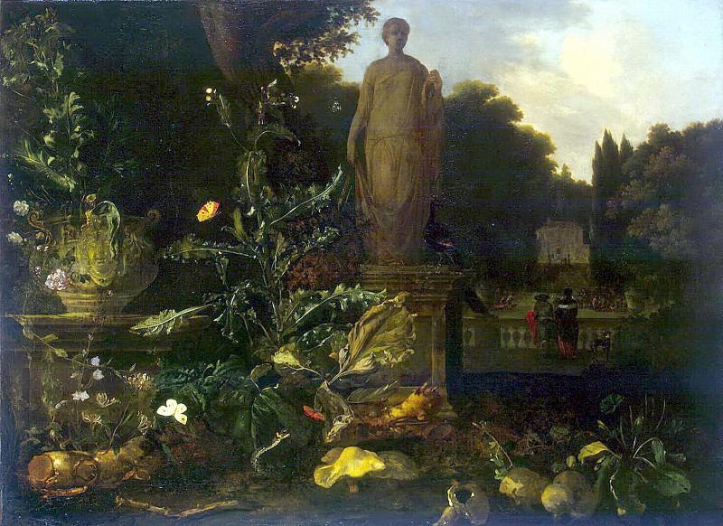 time, Nicolas de - Statue in the park. Hermitage ~ part 03
