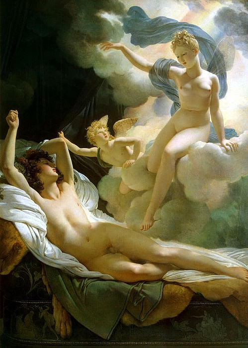 Guerin, Pierre Narcisse - Morpheus and Iris. Hermitage ~ part 03