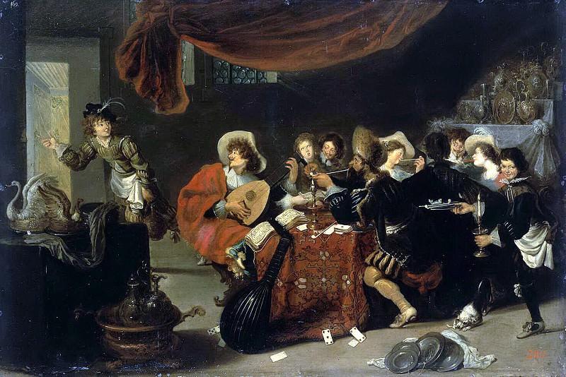 Vos, Simon de - Merry Society. Hermitage ~ part 03