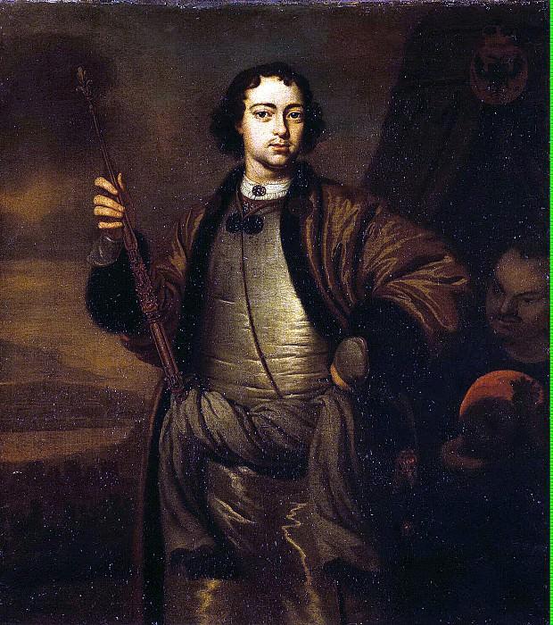 Werff, Pieter van der - Portrait of Peter I. Hermitage ~ part 03