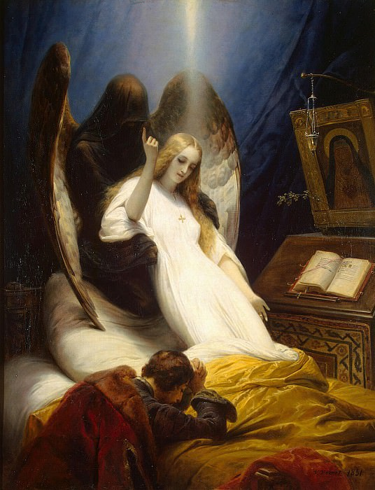 Vernet, Horace - Angel of Death. Hermitage ~ part 03