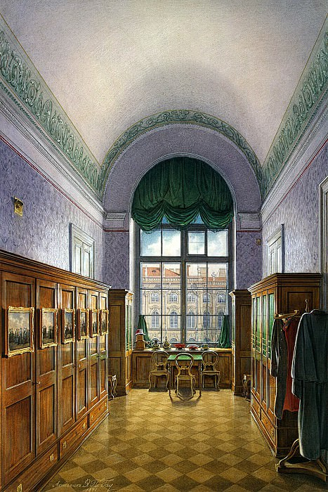 Hau Edward Petrovich - Types of rooms of the Winter Palace. Dressing the Emperor Alexander II. Hermitage ~ part 03