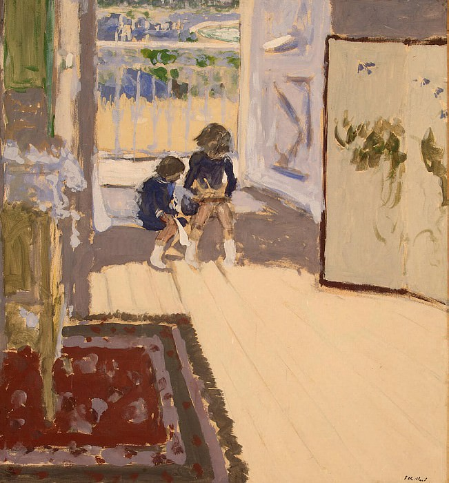 Vuillard, Jean Edouard - Children in the room. Hermitage ~ part 03