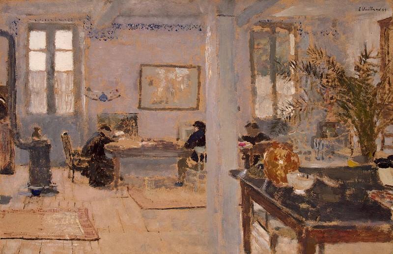 Vuillard, Jean Edouard - In a room. Hermitage ~ part 03