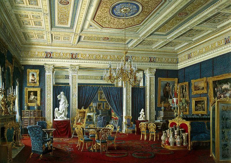 Hau Edward Petrovich - the Mariinsky Palace in St. Petersburg. Blue room. Hermitage ~ part 03
