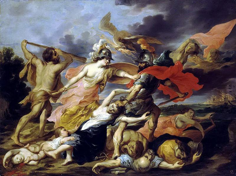 Volfut, Victor Junior - Hercules and Minerva, Mars expulsive. Hermitage ~ part 03