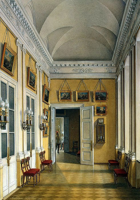 Hau Edward Petrovich - Types of rooms of the Winter Palace. Migrating from Small Fieldmarshal hall in the Military Gallery. Hermitage ~ part 03
