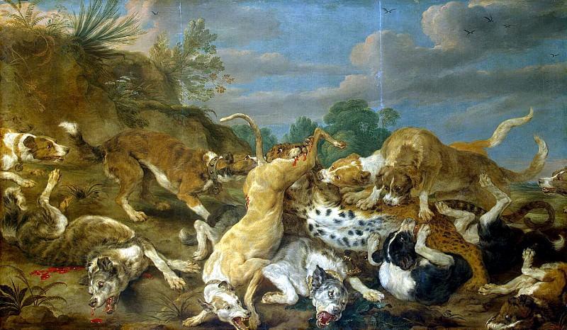 Sun, Pauvel de - Hunting leopard. Hermitage ~ part 03