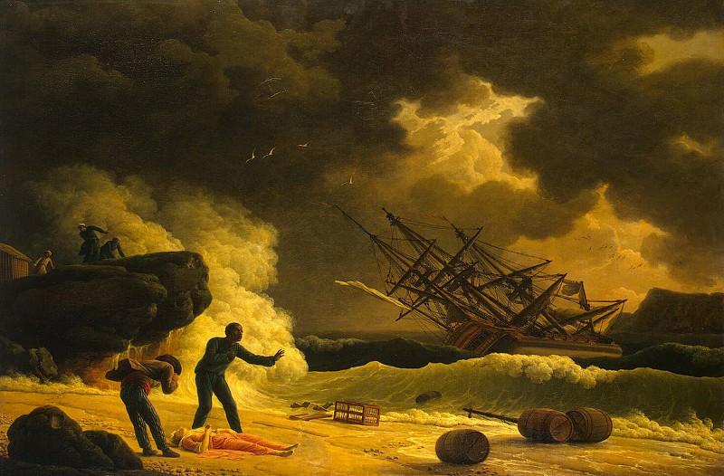 Vernet, Claude Joseph - Death of Virginia. Hermitage ~ part 03