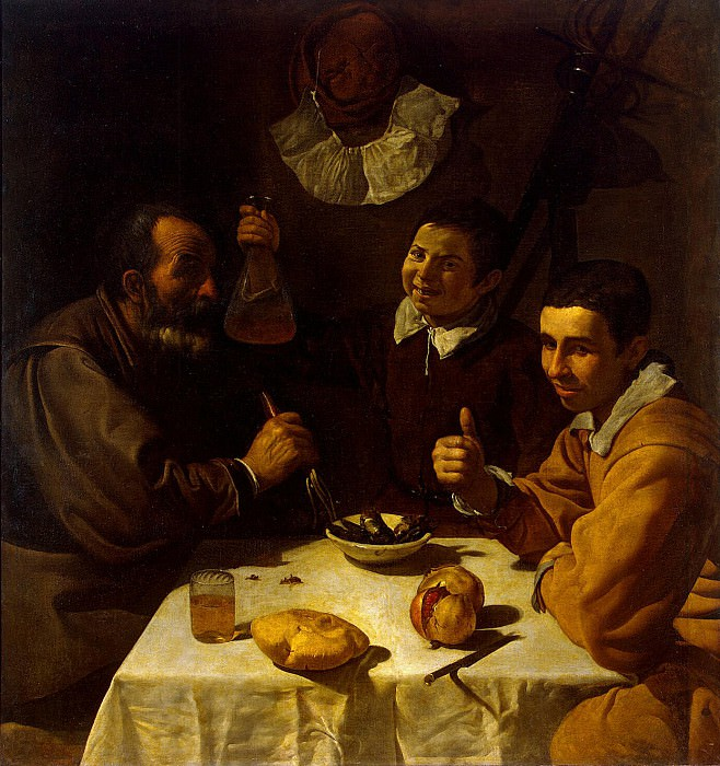 Velazquez, Diego - Breakfast. Hermitage ~ part 03