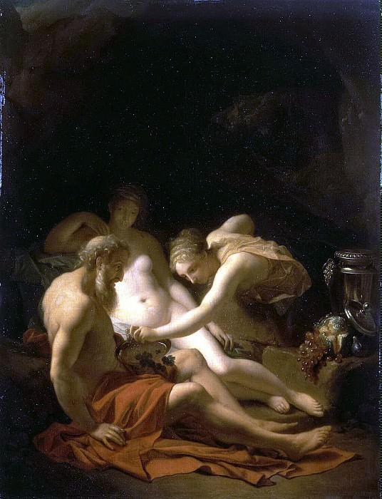 Werff, Adriaen van der - Lot and his daughters. Hermitage ~ part 03
