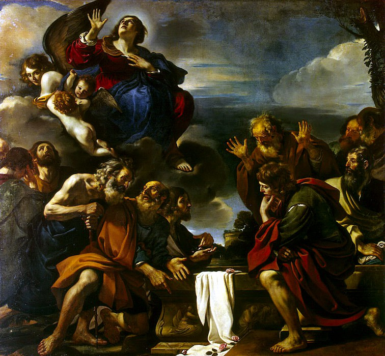 Guercino - Ascension Madonna. Hermitage ~ part 03