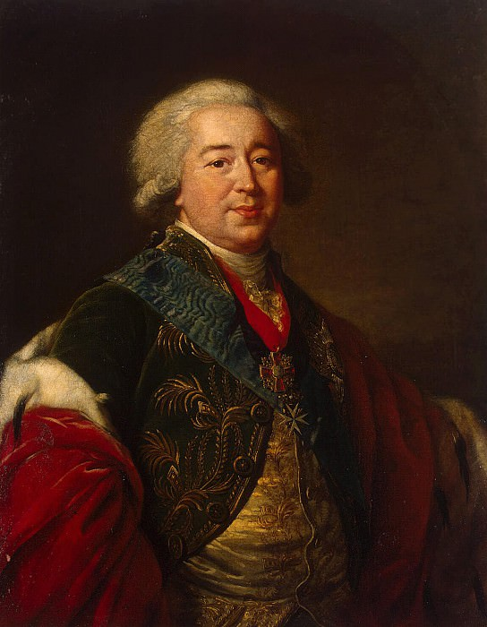 Vigee-Lebrun, Elisabeth-Louise - Portrait of Prince Alexander Borisovich Kurakina. Hermitage ~ part 03