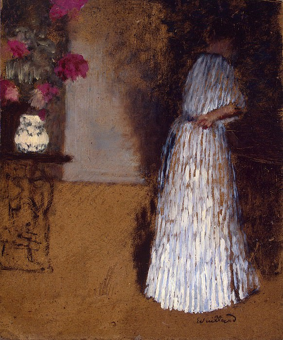 Vuillard, Jean Edouard - Young woman in the room. Hermitage ~ part 03