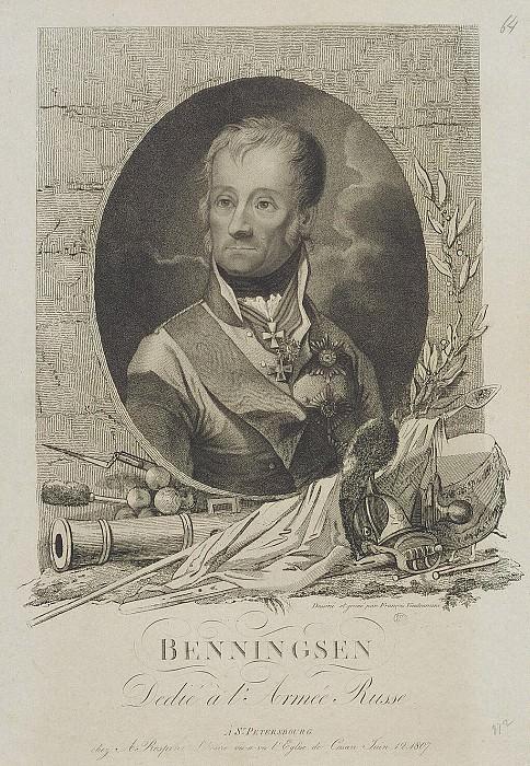 Vendramini Francesco - Portrait of Leontius Leontievich Beningsena. Hermitage ~ part 03