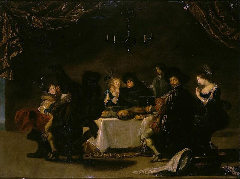 Vos, Simon de - Merry Society (2). Hermitage ~ part 03