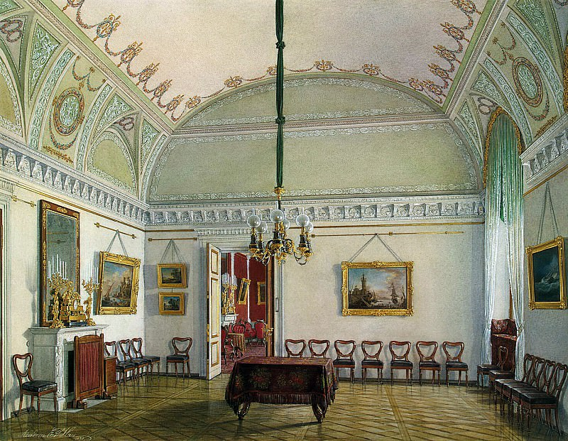 Hau Edward Petrovich - Types of rooms of the Winter Palace. The second half of the spare. Second Meeting. Hermitage ~ part 03