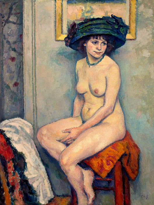 Guerin, Charles - Nude. Hermitage ~ part 03