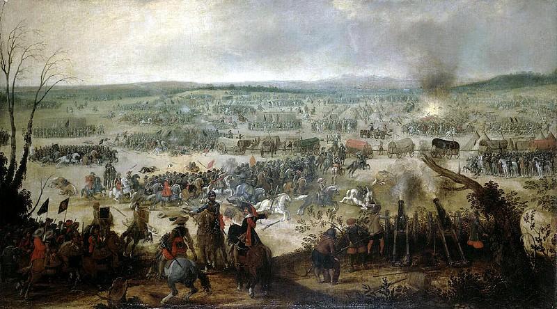 Вос, Симон де - Сражение при Вимпфене 6 мая 1622 года. Эрмитаж ~ часть 3