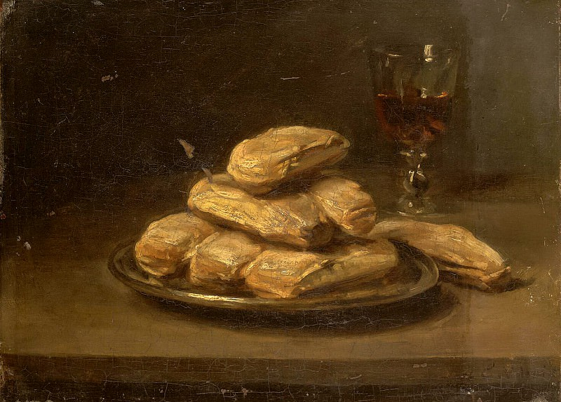 Villa Eugène - Still biscuits and a glass of wine. Hermitage ~ part 03