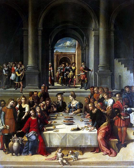 Garofalo, Benvenuto Tisi da - Marriage at Cana. Hermitage ~ part 03
