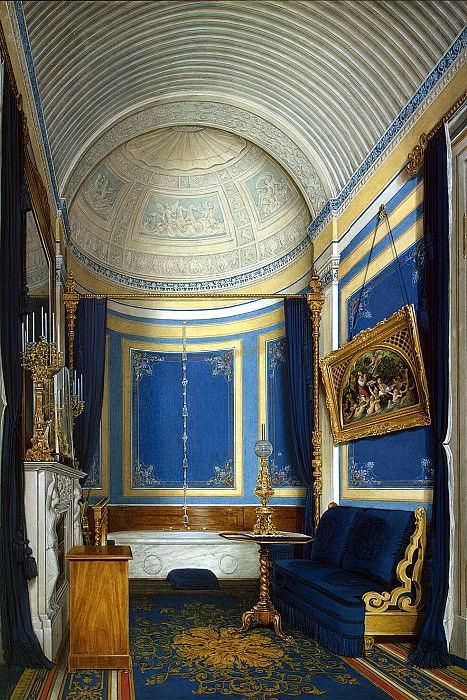 Hau Edward Petrovich - Types of rooms of the Winter Palace. Bathroom of Grand Duchess Maria Alexandrovna. Hermitage ~ part 03