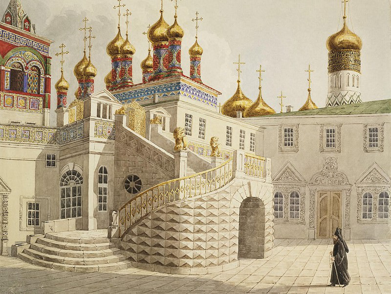 Gilbertzon, E. - Boyar playground and Savior for the gold bars in the Moscow Kremlin. Hermitage ~ part 03