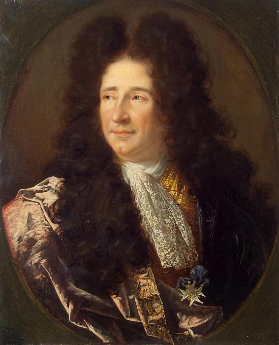 Vivien Joseph - Portrait of the architect Jules Hardouin Mansart. Hermitage ~ part 03