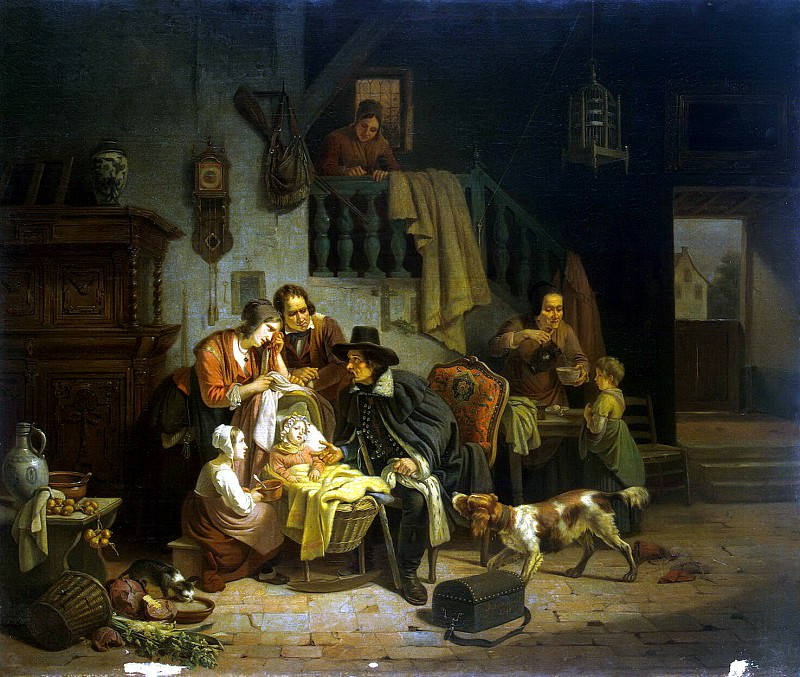 Geyrnert, Theodore Joseph Louis - Hungarian Doctor. Hermitage ~ part 03