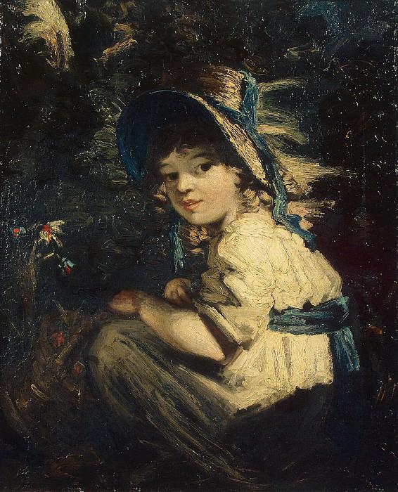 Gardner Daniel - Girl in straw hat. Hermitage ~ part 03