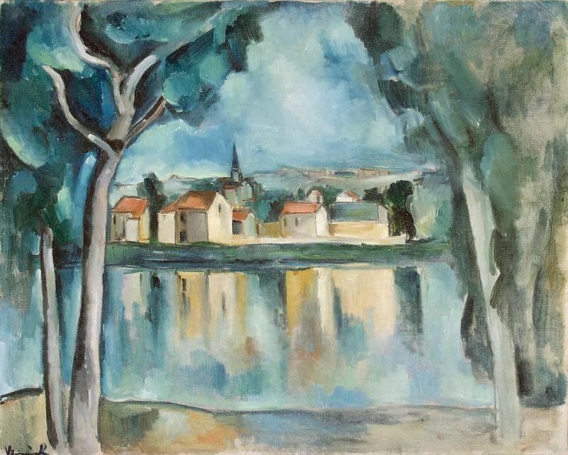 Вламинк, Морис де - Городок на берегу озера. Эрмитаж ~ часть 3