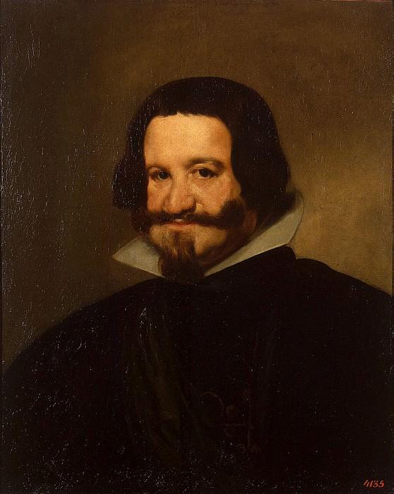 Веласкес, Диего - Портрет графа-герцога Оливареса. Эрмитаж ~ часть 3