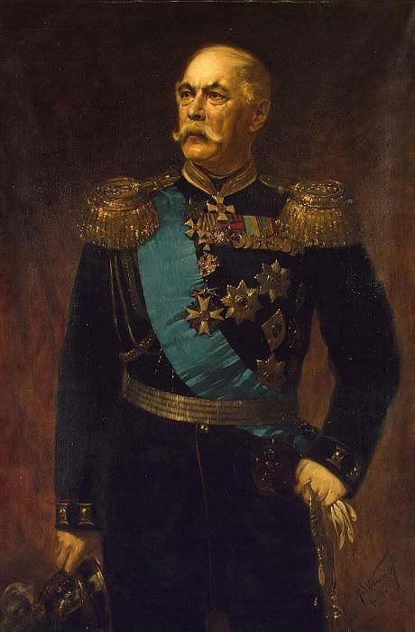 Wimmer Rudolf - Portrait of EI Totleben. Hermitage ~ part 03
