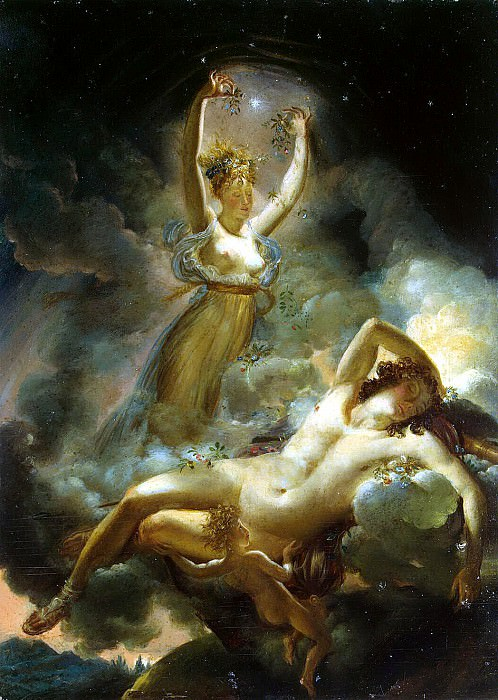 Guerin, Pierre Narcisse - Aurora and Cephalus. Hermitage ~ part 03