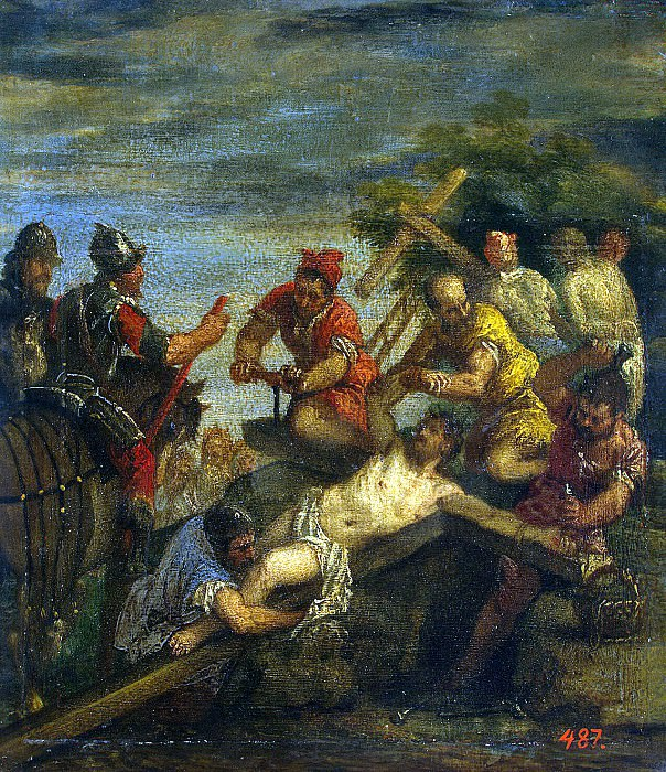 Veronese, Paolo - nailed to the cross. Hermitage ~ part 03