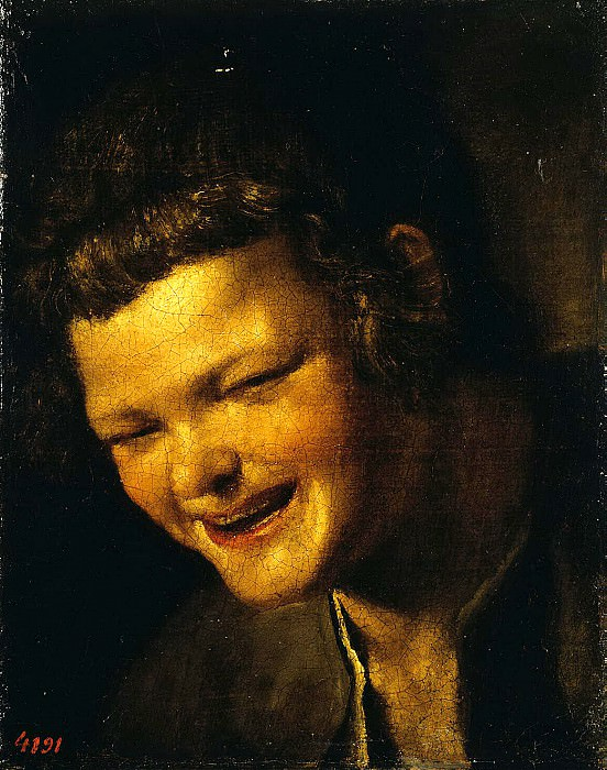 Velazquez, Diego - The head of the laughing boy. Hermitage ~ part 03