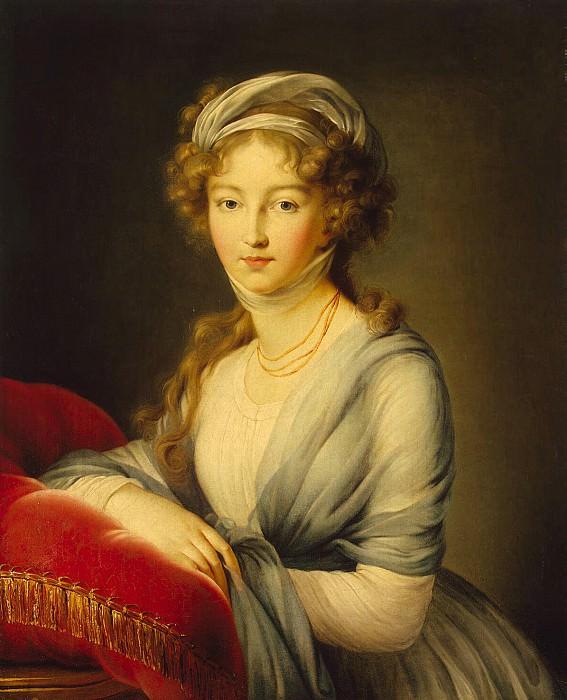 Vigee-Lebrun, Elisabeth-Louise - Portrait of Empress Elizabeth Alexeyevna. Hermitage ~ part 03