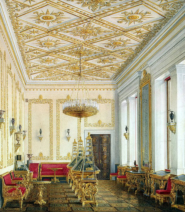 Hau Edward Petrovich - Types halls of the New Hermitage. Study of the Empress. Hermitage ~ part 03