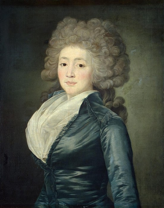 Veil, Jean Louis - Portrait of OA Zherebtsova. Hermitage ~ part 03