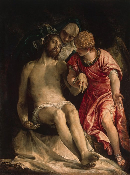 Veronese, Paolo - Lamentation of Christ. Hermitage ~ part 03