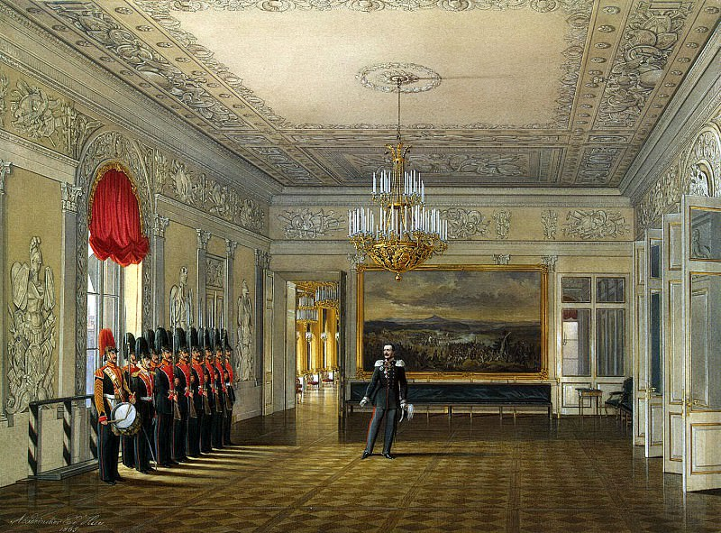 Hau Edward Petrovich - Types of rooms of the Winter Palace. Ground-line Meeting. Hermitage ~ part 03