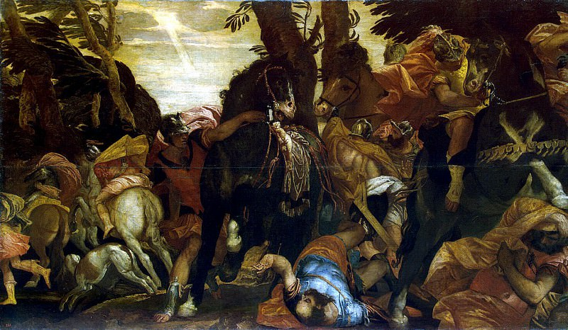 Veronese, Paolo - The Conversion of Saul. Hermitage ~ part 03