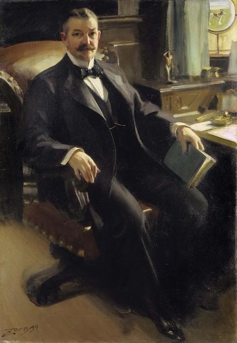 Mr Henry Clay Pierce. Anders Zorn