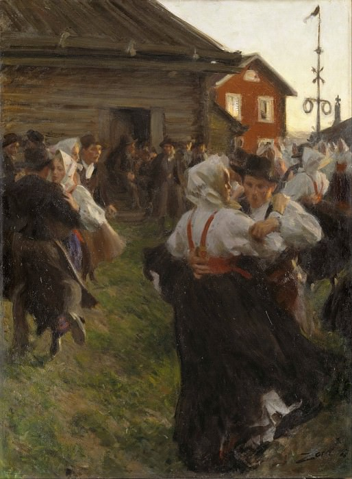 Midsummer Dance. Anders Zorn