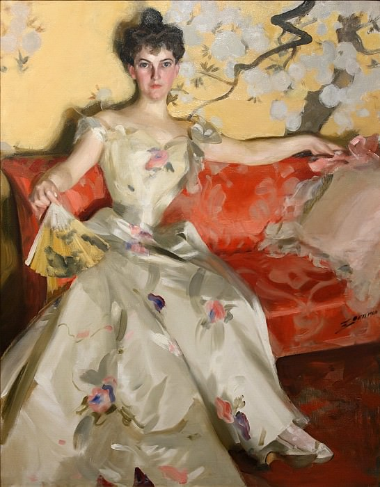 Mrs Donald Cameron. Anders Zorn