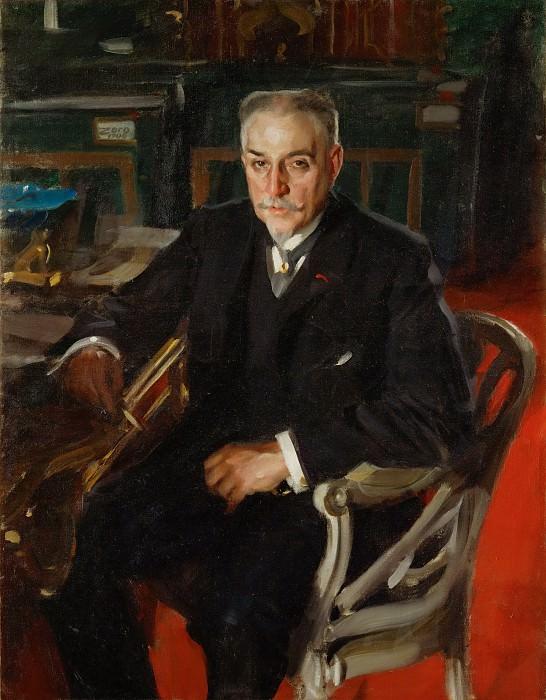 Alfred Beurdeley. Anders Zorn